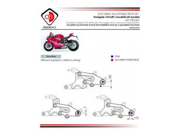 PRV401 Fußrastenanlage Ducabike für Ducati Panigale V4 – Bild 7