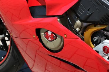 Inspektionsdeckel Pramac Racing Limited Edition CNC Racing für Ducati V4 Panigale – Bild 4
