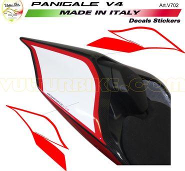 Aufkleber Sitzbankdeckel Desmosedici für Ducati Panigale V4 – Bild 1