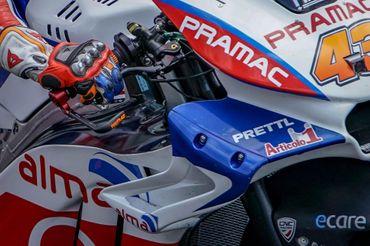 PL100_PR  brake lever protection Pramac Racing CNC Racing for Ducati – Image 4