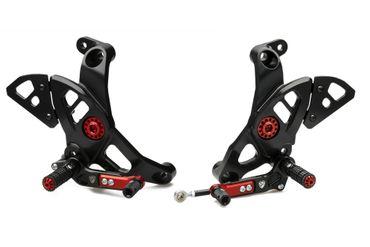 PE444B Fußrastenanlage CNC Racing für Ducati Supersport 939, Monster – Bild 1