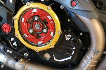 CA501_BICOLOR Kupplungsdeckel Clear CNC Racing Ducati  – Bild 3