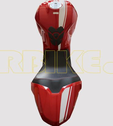 V693_Bianco Aufkleber Kit für Ducati Monster 797/821/1200 – Bild 1