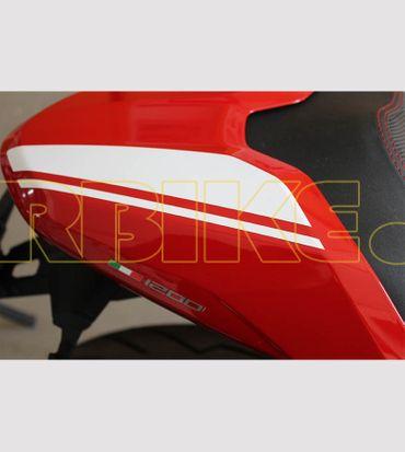 V693_Bianco Aufkleber Kit für Ducati Monster 797/821/1200 – Bild 3