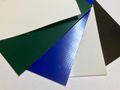 Profi Plane mit Randverstärkung und Ösen nach Maß Original 900 g/m² (individuell nach Maß) Farben Grau, Weiss, Dunkelgrün nach Wahl