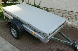 Anhängerplane - Flachplane bis 3,50 m auf Maß gefertigt