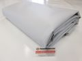 LKW PLANE ABDECKPLANE in 850 g/m² Lichtgrau RAL7035 , inkl. Randverstärkung und Rundösen