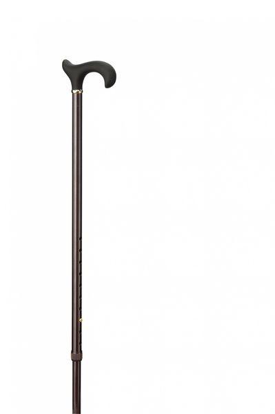Softgriff Ergonomic, TECHNO, ergonomisch geformter Griff aus Kunststoff, höhenverstellbar von 77cm - 103 cm, inklusive Gummipuffer – Bild 2