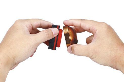 Ersatz-Gummipuffer mit Verschleißanzeige passend für alle DR CANE Gehstöcke mit Spezial-Kreislpuffer System – Bild 1