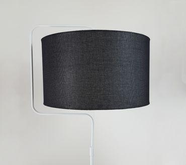 Stehlampe Standleuchte Stehleuchte Stativlampe Deckenfluter Weiß Metall Standfuß – Bild 20
