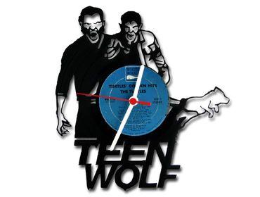 Teen Wolf Vinyl Record Wanduhr Wanduhren Wohnzimmer Wanduhr Modern – Bild 2