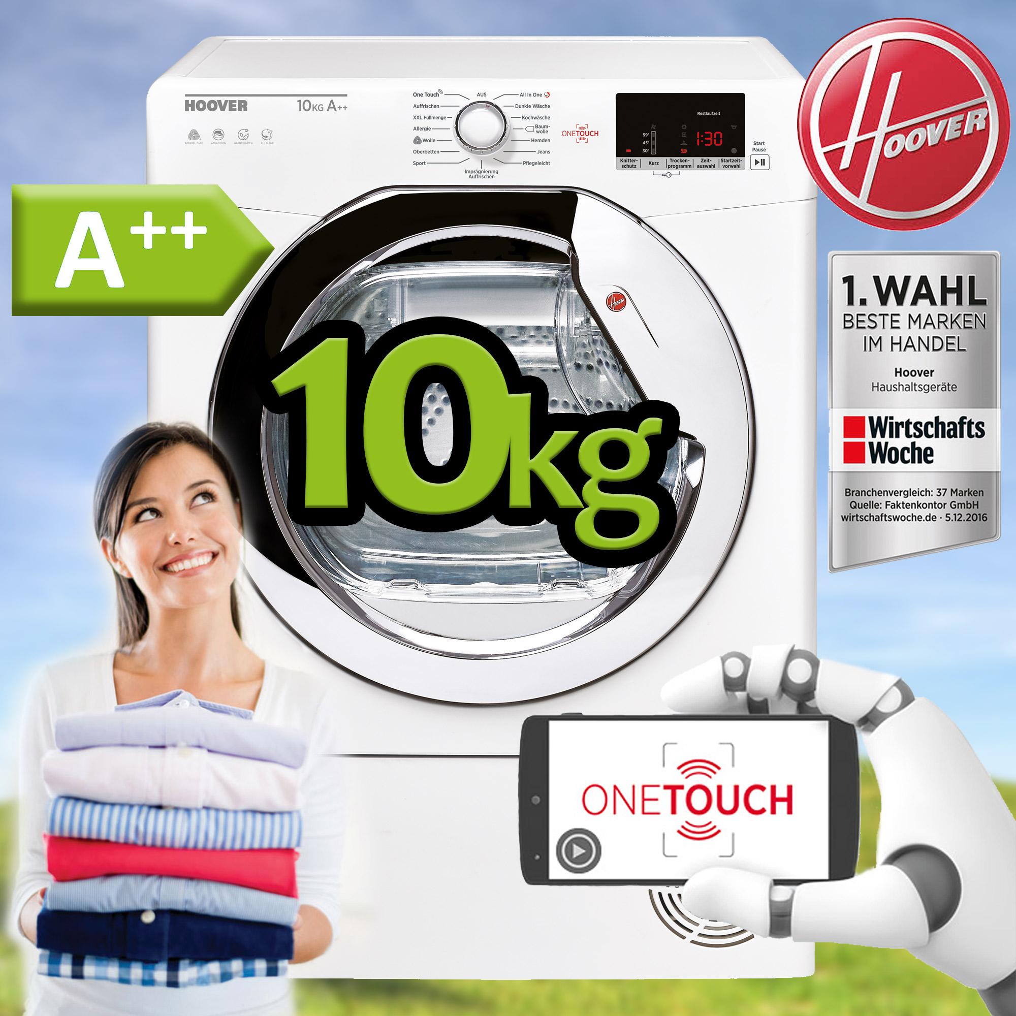 Candy 7kg Wärmepumpentrockner Kondenstrockner NFC-Steuerung Knitterschutz A++