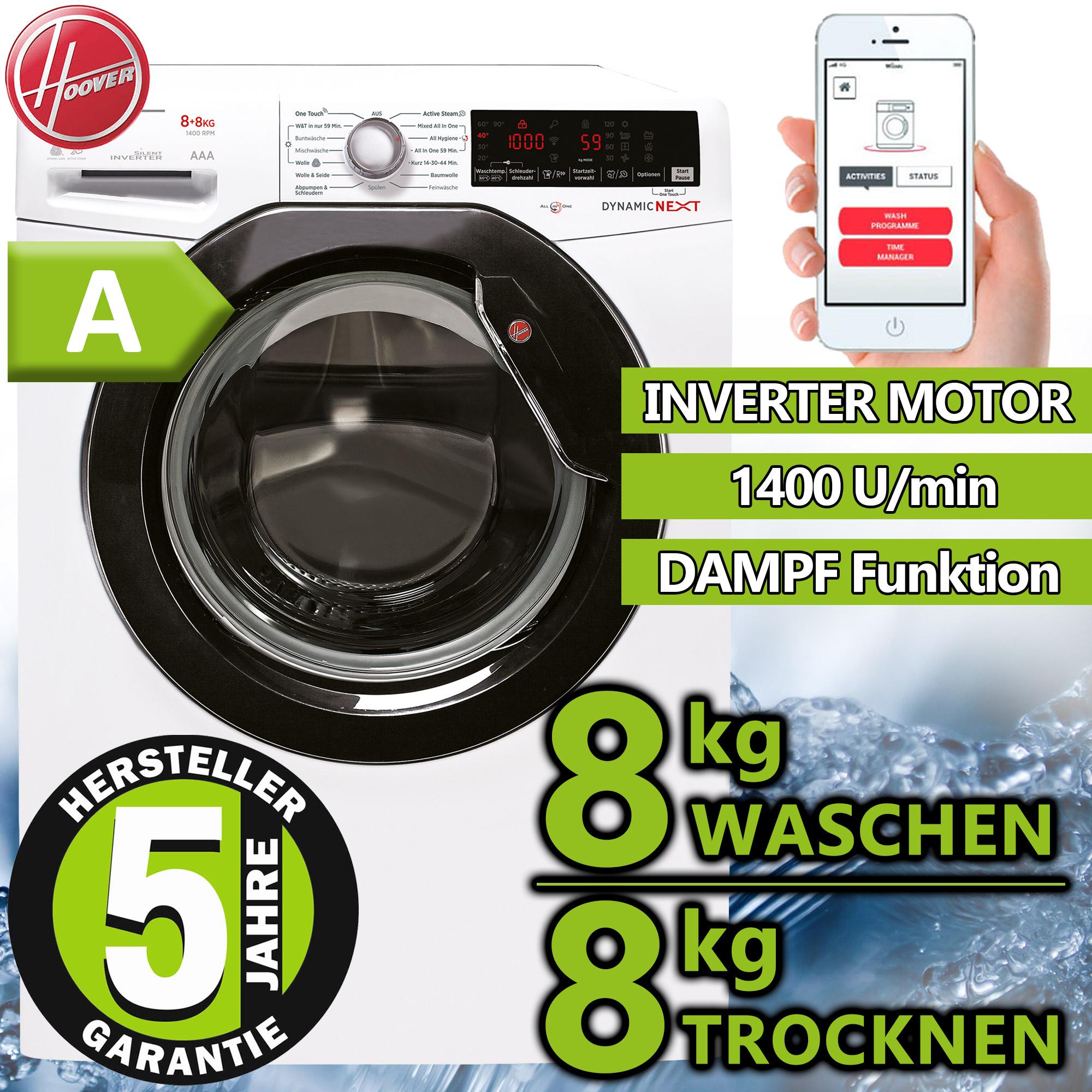 Wärmepumpentrockner Wäschetrockner Knitterschutz Trockner NEU//OVP 10 kg XXL A+