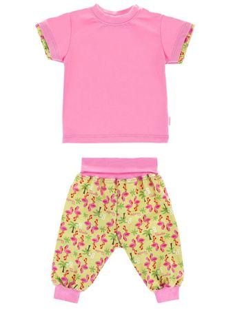Baby Set Gr.62-80 Shirt und Haremshose Krabbelhose 100% Baumwolle – Bild 4