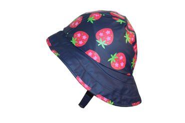 Kinder Regenhut Nackenschutz Erdbeeren Pirat Maximo Regenbekleidung – Bild 2