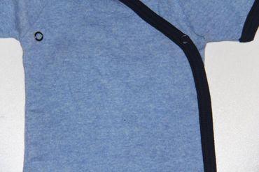 3x Baby Bodys Kurzarm Kleinkind Strampler 100 %Baumwolle – Bild 8