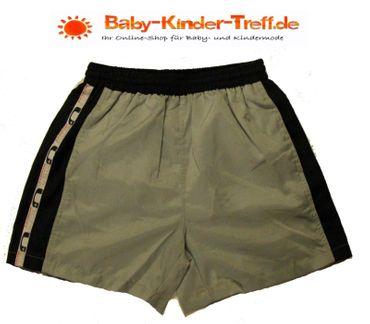 Kinder Kurze Hose Junge Turnhose Sporthose Shorts Fußball mit Netzeinsatz – Bild 2