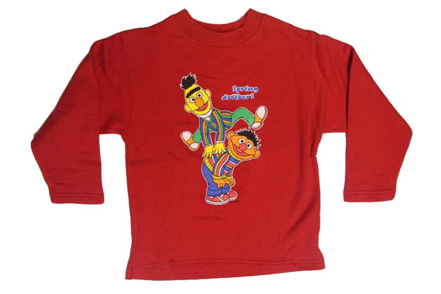Details zu Kinder Pullover Ernie & Bert Sesamstraße Gr.92 bis 140 Jungs Mädchen 1B