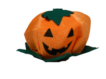 Kinder Damen Herren Halloween Mütze Hut Kürbis Fasching Grusel  60 cm Umfang