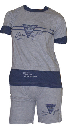 Kinder Sport Anzug 2-Teiler T-Shirt Shorts Mädchen Junge Kinder Freizeit