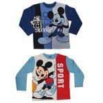 Kinder Langarm T-Shirt Gr.98-128 Mickey Maus Mouse Donald Duck Disney 001