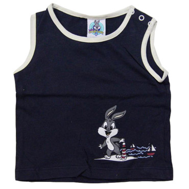 Baby Achselshirt Bugs Bunny Gr. 74-80 Looney Tunes Sommershirt