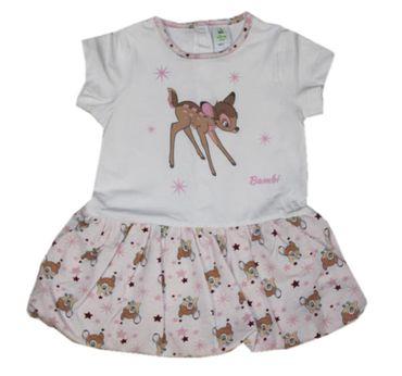 Baby Kleid Kleinkind Gr. 62 68 74 Kleid Bambi Disney rosa Ballonkleid Geschenkidee
