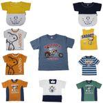 Baby Kinder T-Shirt Disney Snoopy Charlie Brown Motorrad Achselshirt Cool Jungs 001