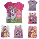 Kinder T-Shirt Filly Fairy Pferdchen Witchy Elves Glitzer Achselshirts pink 001