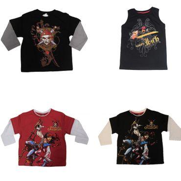 Kinder T-Shirt Fluch der Karibik Gr.98-164 Piraten Pirates Caribbean Jack Sparrow