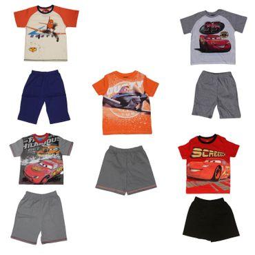Kinder Schlafanzug Nachtwäsche Cars 2 Planes Disney 2-Teiler Shorty