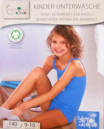 1x Kinder Bio Baumwolle Unterwäsche Slip Set Unterhemd Öko-Tex Standard 100 – Bild 15
