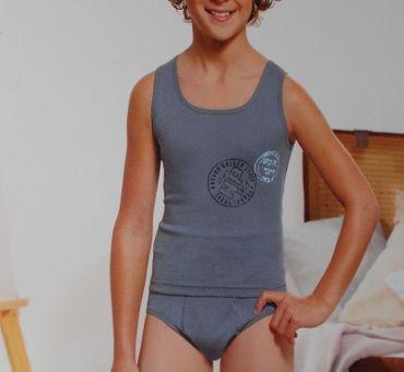 1x Kinder Bio Baumwolle Unterwäsche Set Unterhemd Öko-Tex Standard 100 – Bild 4