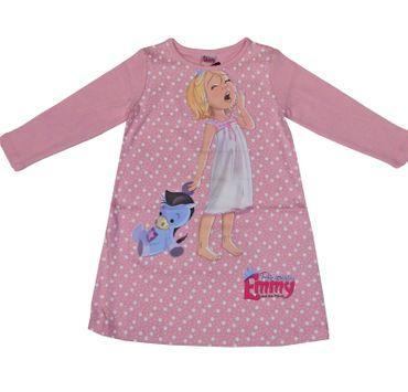 Kinder Nachthemd langarm Schlafanzug Schlafkleid Prinzessin Emmy rosa Disney