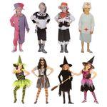 Kinder Kostüm Mädchen Halloween Fasching Hexe Biene Krankenschwester 001