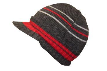 Kinder Mütze Schildmütze Ohrschützer Cord Hip Hop 90´s Wintermütze – Bild 4