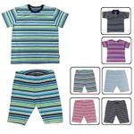 Baby Kinder T-Shirt und Radler Caprihose Maximo Made in Germany UV Schutz 50+ 001