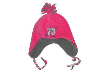 Kinder Mütze Kindermütze pink rosa Flokati Mütze Winter Mädchen – Bild 2