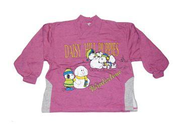 Kinder Pullover Gr.116/122 Daisy Hill Puppies Peanuts Sweatshirt Mädchen