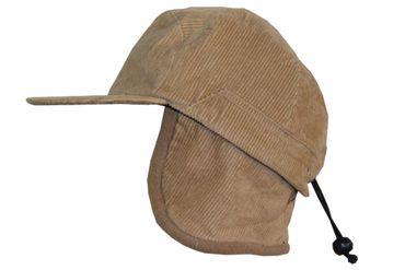 Kinder Mütze Jugendliche Cap Ohrschützer Cord Fliegermütze Wintermütze – Bild 2