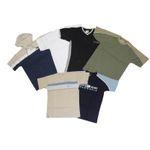 5x Kinder Basic T-Shirts Jungs 1B Ware Männer Kinder Shirts  001