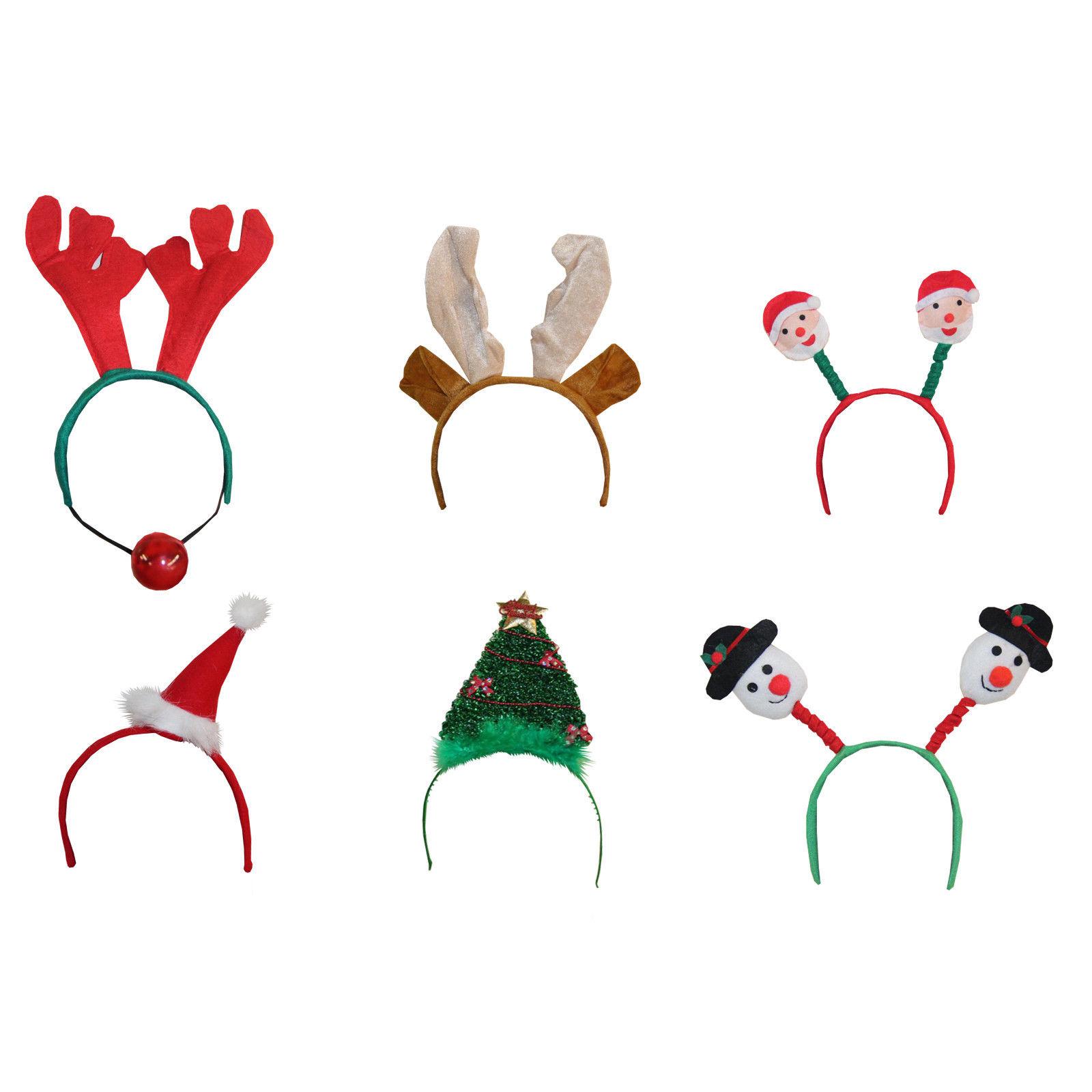 Weihnachten Kinder Erwachsene Haarreif Weihnachtsfeier Scherzartikel ...