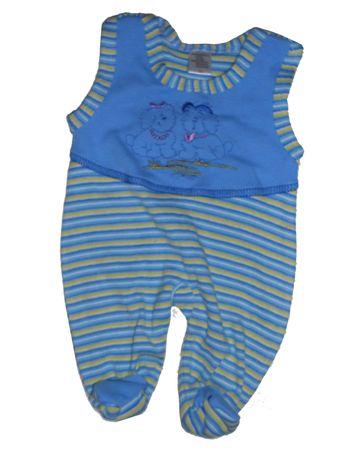 Baby Strampler Untergröße Frühchen Gr. 44 Babystrampler Frühgeburt – Bild 1