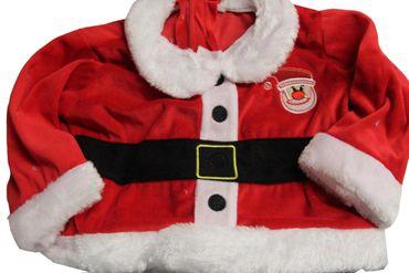 Baby Kostüm Weihnachten Weihnachtskostüm Weihnachtsanzug Rudolph Rentier Geschenk – Bild 3