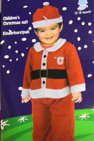 Baby Kostüm Weihnachten Weihnachtskostüm Weihnachtsanzug Rudolph Rentier Geschenk – Bild 7