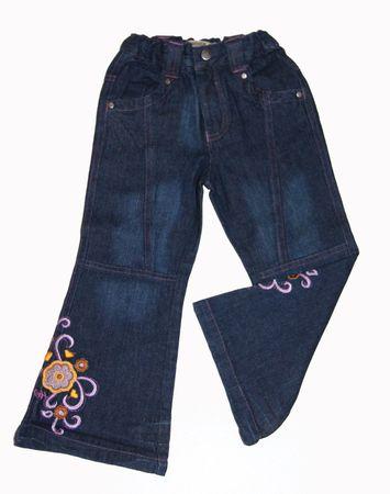 Kinder Jeans Jeanshose Schlaghose Gr. 110 122 Pfister Made in Germany – Bild 1