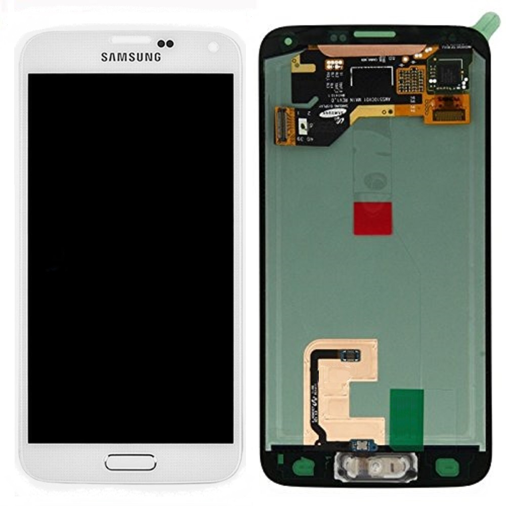 original samsung galaxy s5 g900f lcd display service pack touchscreen digitizer gh97 15959a wei. Black Bedroom Furniture Sets. Home Design Ideas