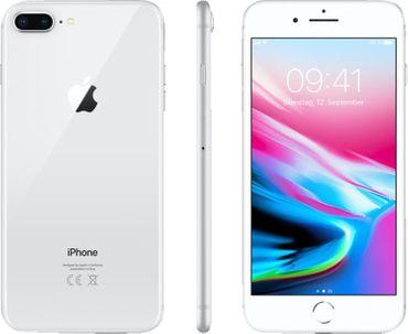 Apple iPhone 8 Plus Smartphone 13,94 cm (5,5 Zoll) 64GB Silber - NEU