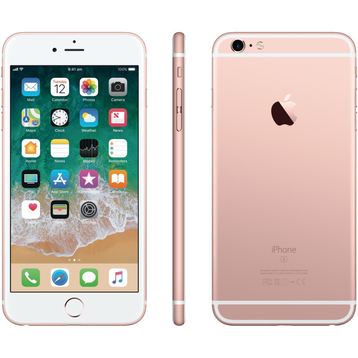 Iphone 6s Plus Rosegold Neu