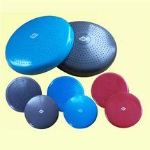 BASIT® Ballsitzkissen Balance Board Sitzkissen blau grau rot  oder Zubehör